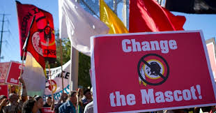 Protest Redskins Name