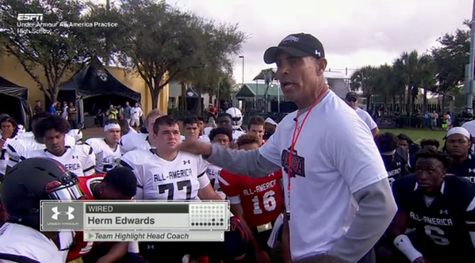 Herm Edwards Teaching