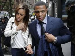 Ray Rice Leaves Hearing