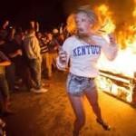 Kentucky Basketball Riot